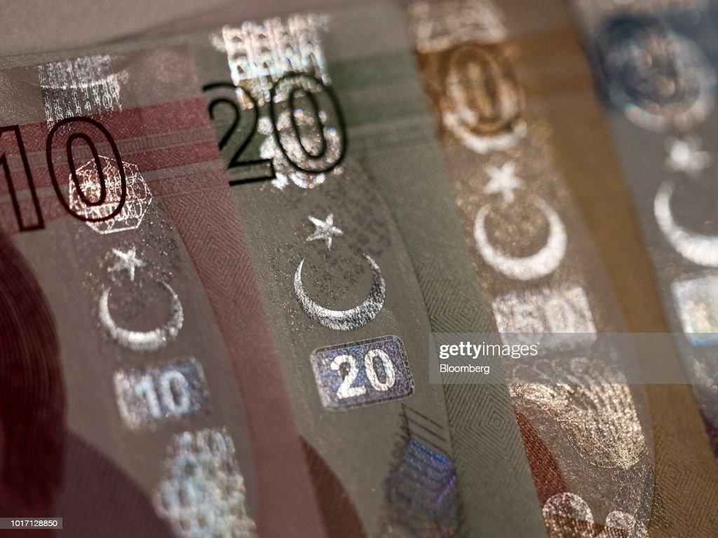 Turkish Lira Currency As Regulator Curbs Bank Swap Transactions
