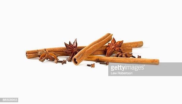 Star Anise , cinnamon , and cloves