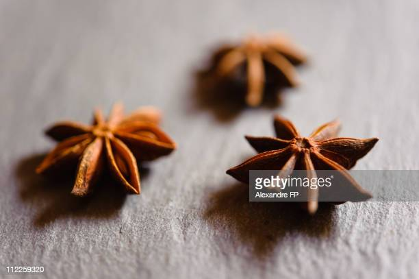 Star Anise on slate tray