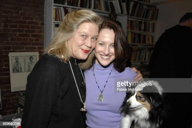 """Star Black, Margie Beck attend Patricia Bosworth and Joel Conarroe host party for BRAD GOOCH'S new book """"FLANNERY: A LIFE OF FLANNERY O'CONNOR"""" at..."""