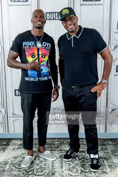 Star Chad Johnson and Luther Campbell discuss Warriors of Liberty City with the Build Series at Build Studio on September 4 2018 in New York City