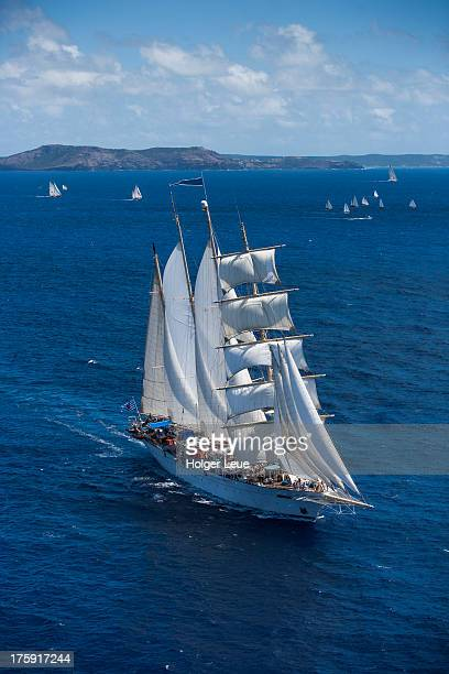 Star Clipper at Antigua Classic Yacht Regatta