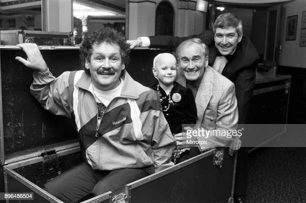 Star comedians Cannon and Ball headed the lineup in a special concert which raised more than ú2000 to send a fiveyearold cancer sufferer on a dream...