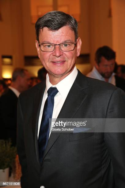 Star cook Harald Wohlfahrt during the 2oth Busche Gala at The Charles Hotel on October 16 2017 in Munich Germany