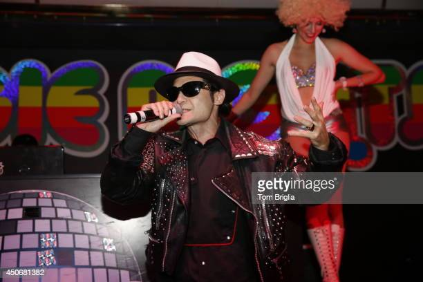 Star Corey Feldman hosted and was inducted into the 'Boogie Nights Nightclub' Hall of Fame at Tropicana Casino Resort in Atlantic City on Saturday...
