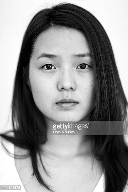 Star Creation finalist Zhang Zhe of China poses for a portrait during the AFF Star Creation Pre-Judging as part of the Audi Fashion Festival...
