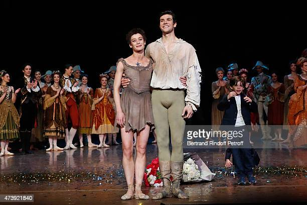 Star Dancer Aurelie Dupont her sons Jacques and Georges Star Dancer Roberto Bolle and the dancers attend Star Dancer Aurelie Dupont says goodbye to...