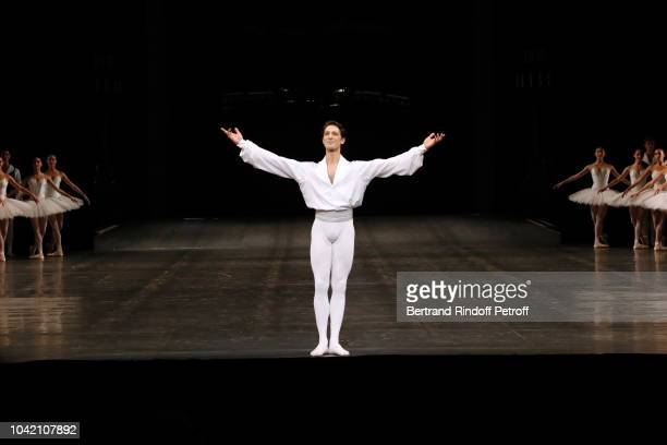 Star Dancer Hugo Marchand and dancers perform during the Opening Season Paris Opera Ballet Gala as part of the Paris Fashion Week Womenswear...