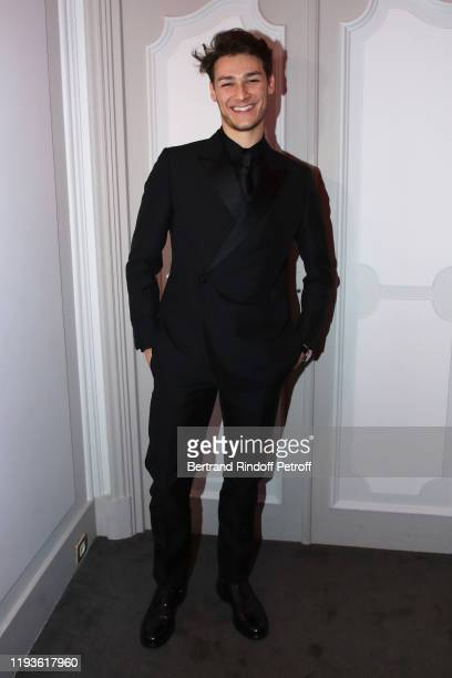 Star Dancer Hugo Marchand attends the Annual Charity Dinner hosted by the AEM Association Children of the World for Rwanda AIn on December 12 2019 in...