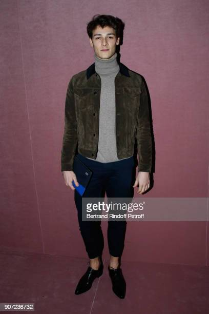 Star Dancer Hugo Marchand attends the Berluti Menswear Fall/Winter 20182019 show as part of Paris Fashion Week on January 19 2018 in Paris France