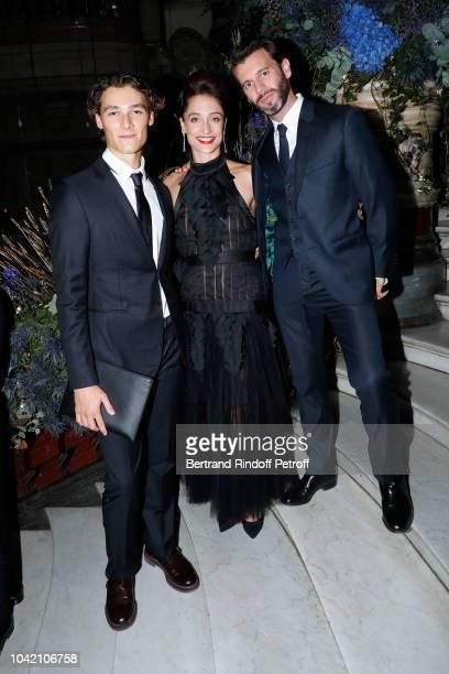 Star Dancer Hugo Marchand Star Dancer Dorothee Gilbert and her husband James Bort attend the Opening Season Paris Opera Ballet Gala as part of the...