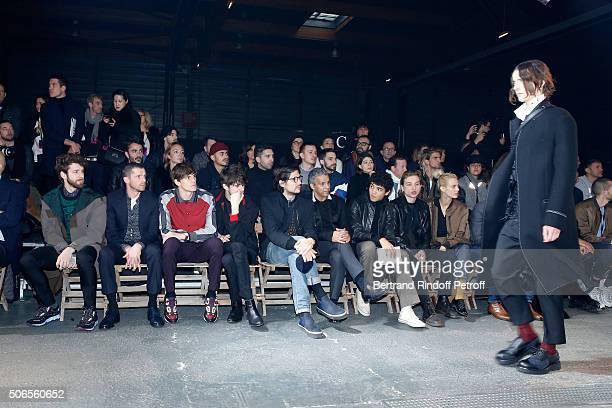Star Dancer Josua Hoffalt Actors Pierre Deladonchamps Adrien Dantou Cesar Domboy Felix de Givry Sami Bouajila Guest Lucas Ionesco and Aymeline Valade...