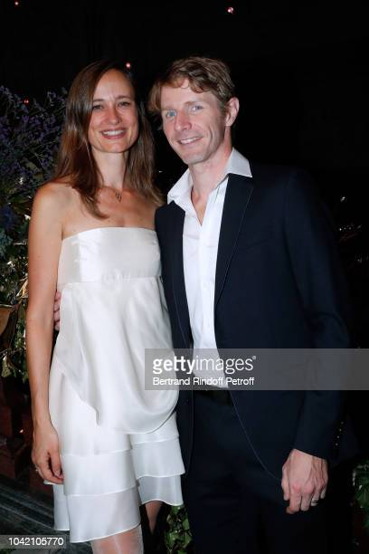 Star Dancer Karl Paquette and his wife Marion attend the Opening Season Paris Opera Ballet Gala as part of the Paris Fashion Week Womenswear...