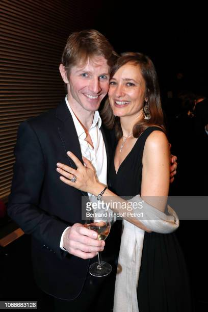 Star Dancer Karl Paquette and his wife Marion Paquette attend the Opera National de Paris celebrates the official farewell to the stage of the Star...