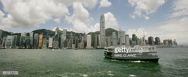 Star Ferry makes its way across Hong Kong's Victoria Harbour on the way to the Kowloon district of Hong Kong 28 June 2005 There have only been a...