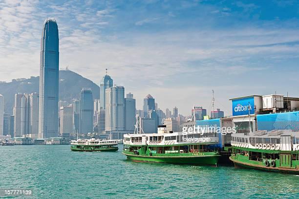 Star Ferry terminal Hong Kong Harbour
