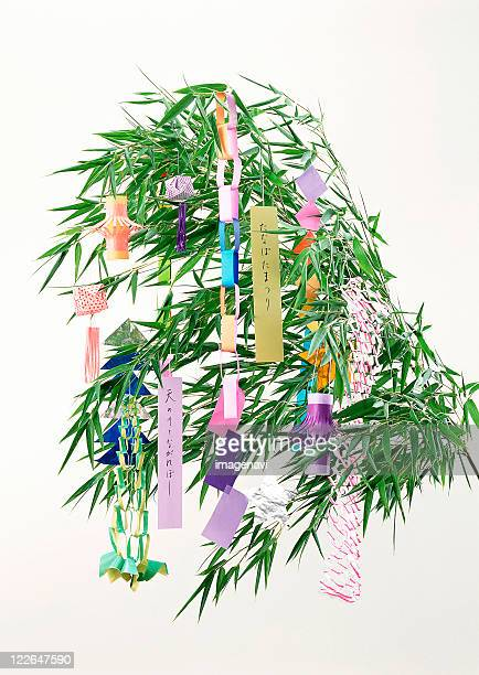 star festival decoration - tanabata festival stock pictures, royalty-free photos & images