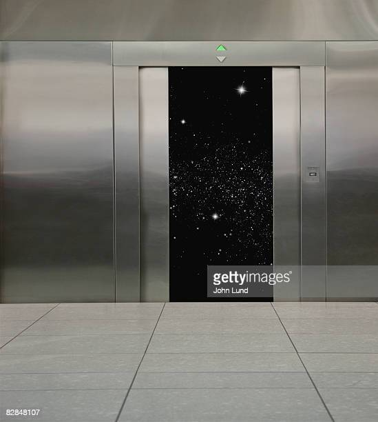 Star field within an elevator