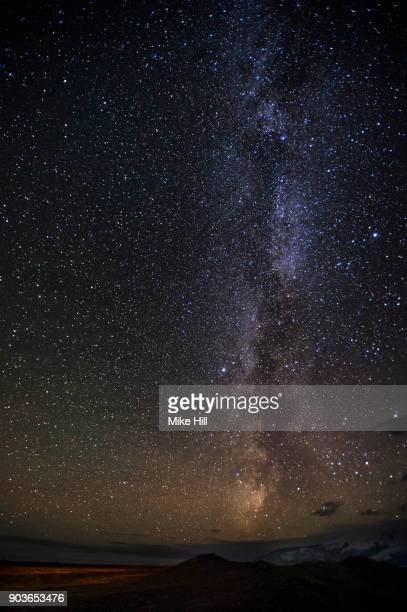 Star filled Sky showing The Milky Way