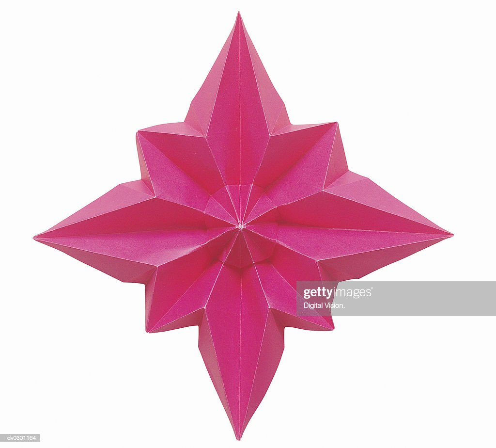 Star flower origami stock photo getty images star flower origami stock photo mightylinksfo