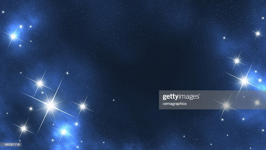 Star Frame in Space : Stock Photo