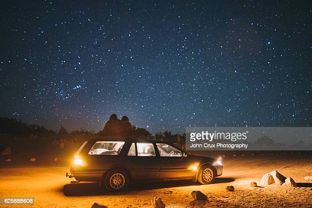 star gazing - western australia stock pictures, royalty-free photos & images