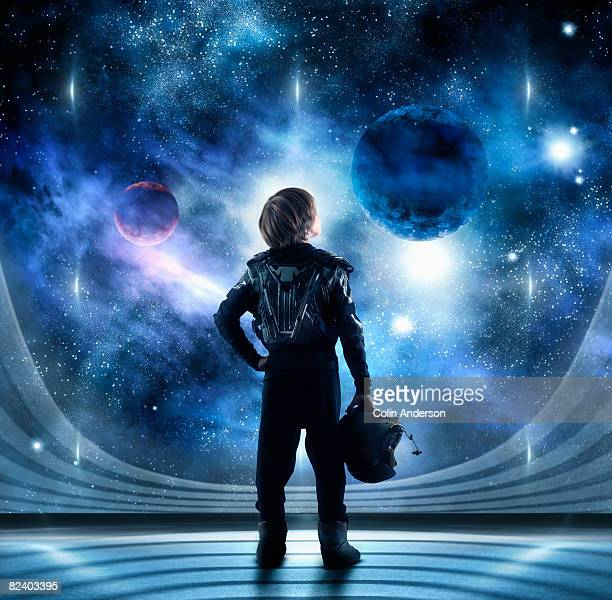 star gazing - space helmet stock pictures, royalty-free photos & images