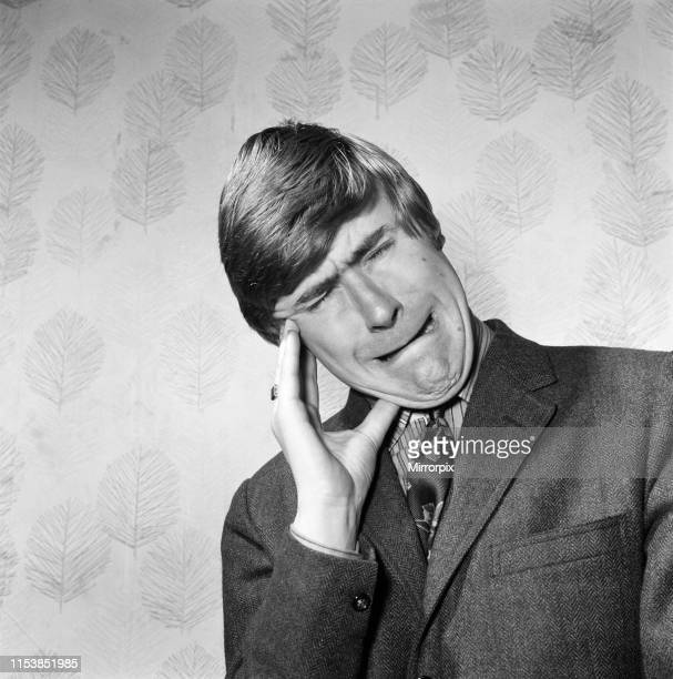 TV star impressionist Mike Yarwood 19th December 1968