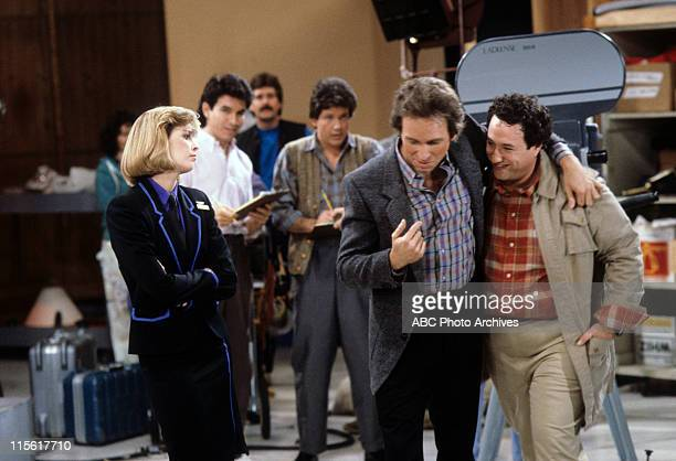 "Star Is Born"" - Airdate: April 9, 1985. MARY CADORETTE;EXTRA;GEORGE SOLOMON;JOHN RITTER;STUART PANKIN"