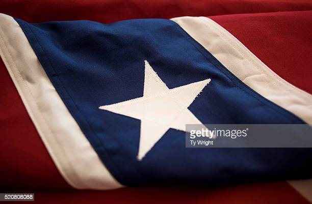 A star is sewn onto a Confederate flag inside of the Alabama Flag and Banner on April 12 2016 in Huntsville Alabama Kennedy said the company which...