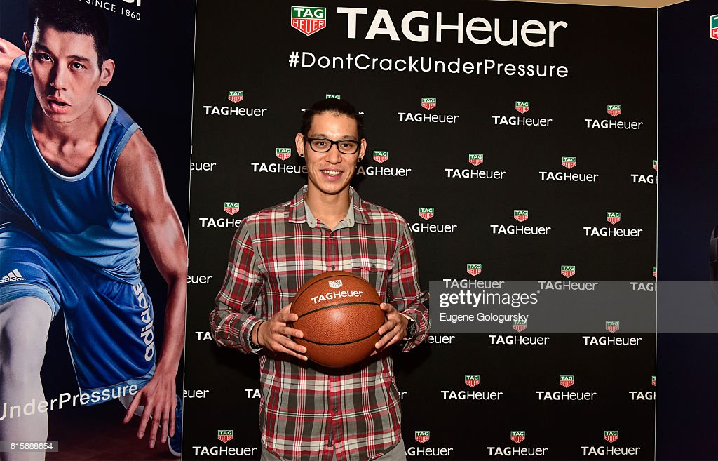 NBA Star, Jeremy Lin, Launches The New TAG Heuer Boutique
