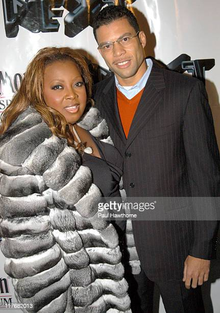Star Jones and Al Reynolds during ESPN The Magazine 'NEXT' Party New York at Capitale in New York City New York United States