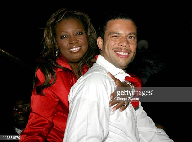 Star Jones and Fiance Al Reynolds during Olympus Fashion Week Spring 2005 Sean John Fashion Week Party at Ruby Falls in New York City New York United...
