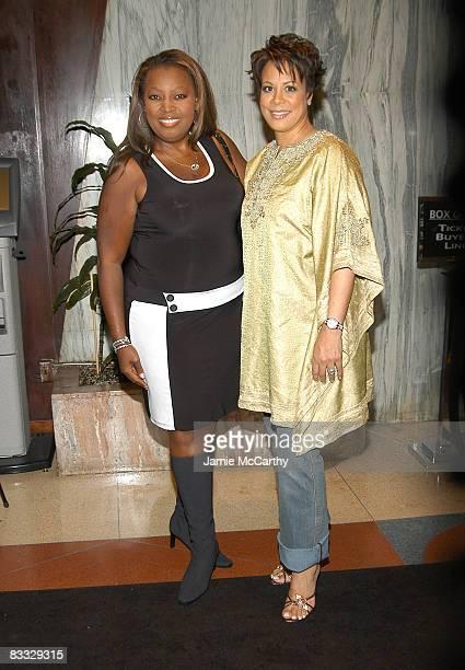 Star Jones and Juanita Jordan