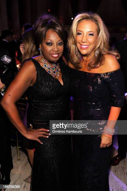 Star Jones and President and Cofounder of Gabrielle's Angel Foundation Denise Rich attend Gabrielle's Angel Foundation Hosts Angel Ball 2013 at...