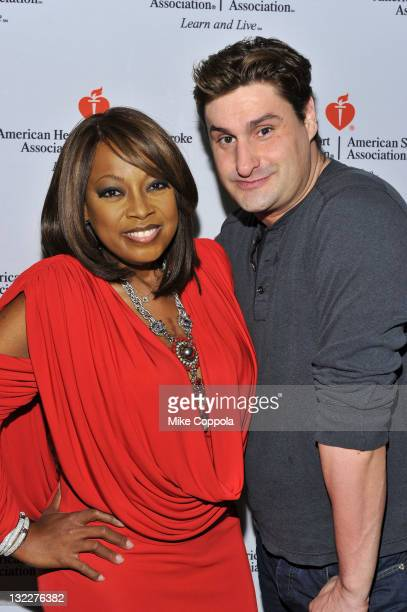 Star Jones and Rob Shuter attend 'Celebrity Apprentice' Premiere For American Heart Association at OPIA Lounge at Hotel 57 on March 6 2011 in New...