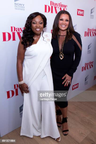 Star Jones and Vanessa Williams attend VH1 Daytime Divas Premiere Event at the Whitby Hotel on June 1 2017 in New York City