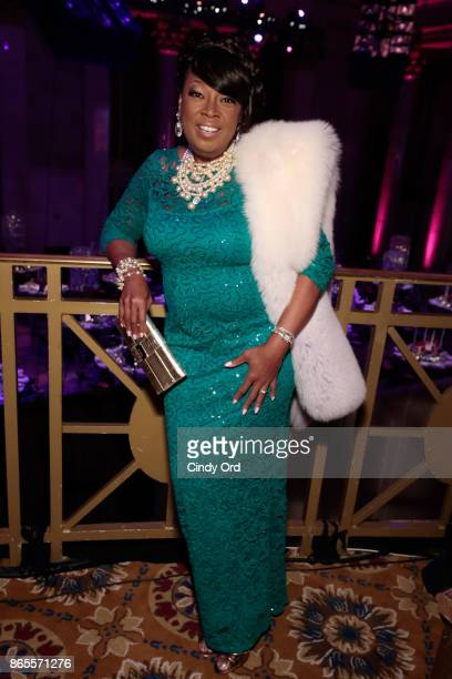 Star Jones arrives at Gabrielle's Angel Foundation's Angel Ball 2017 at Cipriani Wall Street on October 23 2017 in New York City