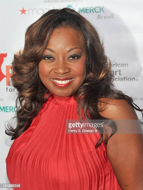 Star Jones attends AHA Go Red for Women/Elizabeth Banks Premiere Party For Just a Little Heart Attack Short Film at Abe Arthur's on September 13 2011...
