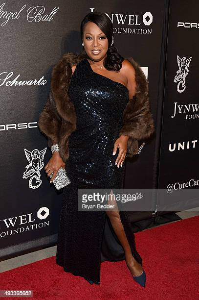 Star Jones attends Angel Ball 2015 hosted by Gabrielle's Angel Foundation at Cipriani Wall Street on October 19 2015 in New York City