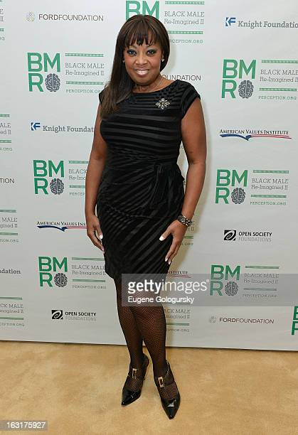 Star Jones attends Black Male ReImagined II at Ford Foundation on March 5 2013 in New York City