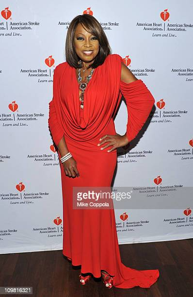 Star Jones attends Celebrity Apprentice Premiere For American Heart Association at OPIA Lounge at Hotel 57 on March 6 2011 in New York City