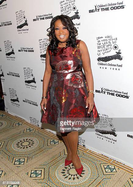 Star Jones attends Children's Defense Fund's Beat the Odds Gala at the Pierre Hotel on February 29 2016 in New York City