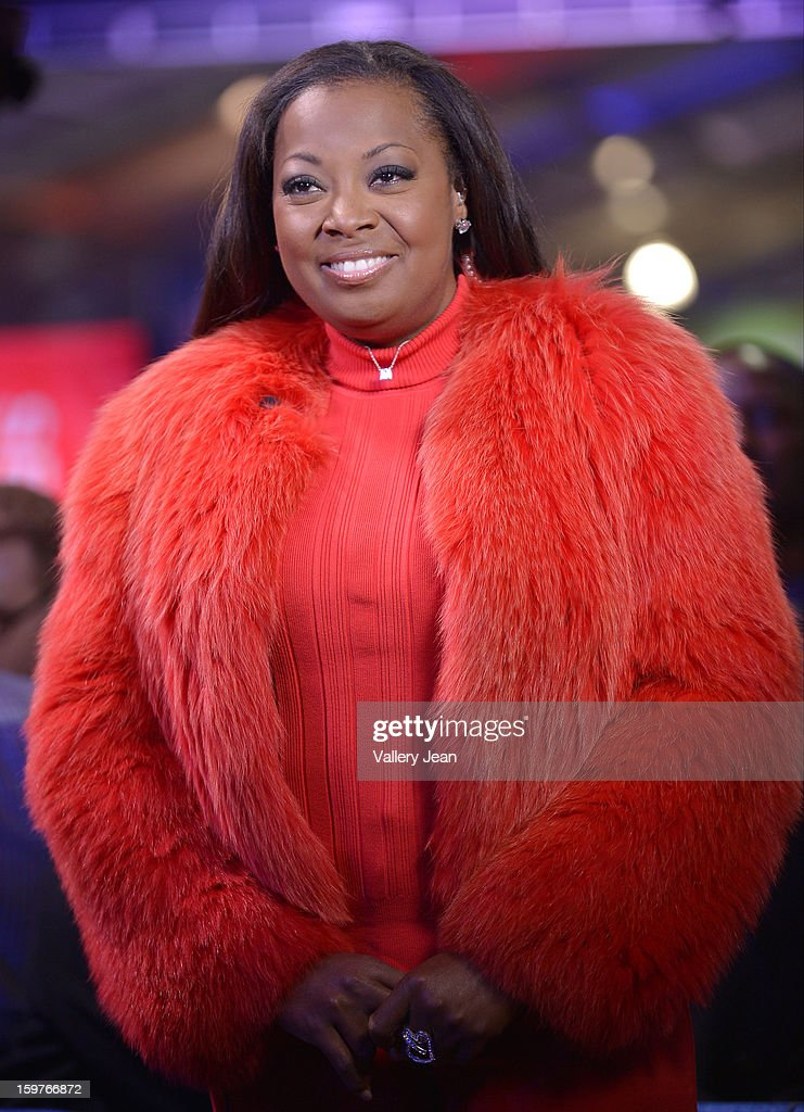 Star Jones attends Presidential National Day Of Service at National Mall on January 19, 2013 in Washington, DC.