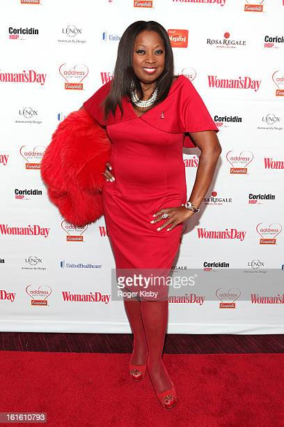 Star Jones attends the 10th Annual Red Dress Awards at Jazz at Lincoln Center on February 12 2013 in New York City