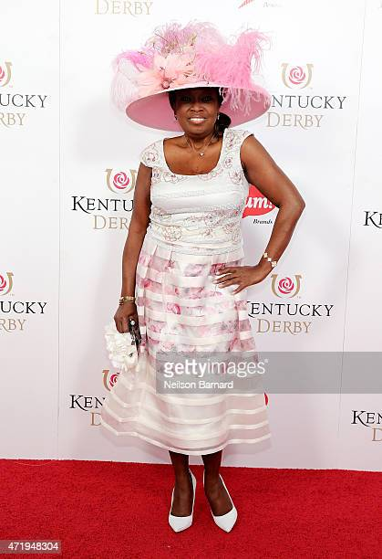 Star Jones attends the 141st Kentucky Derby at Churchill Downs on May 2 2015 in Louisville Kentucky