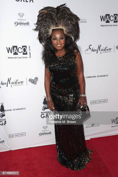 Star Jones attends the Wearable Art Gala at California African American Museum on April 29 2017 in Los Angeles California