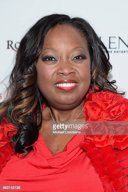 Star Jones attends the Woman's Day Red Dress Awards on February 10 2015 in New York City