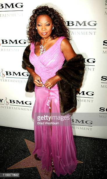 Star Jones during 2005 Sony/BMG Post GRAMMY Awards Party at Roosevelt Hotel in Los Angeles California United States