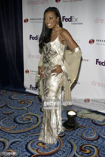 Star Jones during Dinner and Auction Benefiting Dress for Success with Honoree Star Jones April 3 2006 at Marriott Marquis Hotel in New York NY...